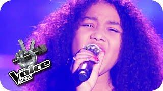 Feeling Good - Michael Bublé (Zoë)   The Voice Kids 2015   Halbfinale   SAT.1