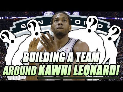 NBA FANTASY DRAFT CHALLENGE! BUILDING A TEAM AROUND KAWHI LEONARD! CAN YOU WIN THE NBA FINALS?!?