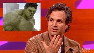 MARK RUFFALO Gets Hulk Role in The Avengers - By Mistake?! The Graham Norton Show on BBC AMERICA