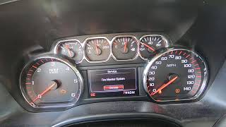 Service Tire Monitor System/Relearning Tires GM Vehicles