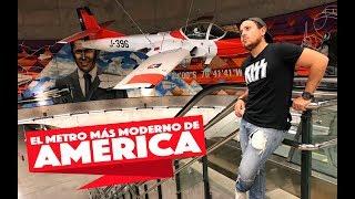 El Metro Más Moderno de América | ¿Hay Un Avión? | Santiago de Chile