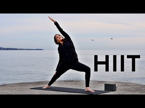 30 Minute Yoga (HIIT Workout) | Fightmaster Yoga Videos