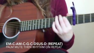 HOW TO PLAY: The Last Goodbye by Billy Boyd on Guitar