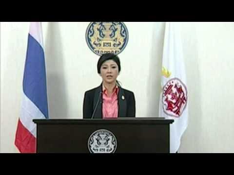 Thai PM Yingluck Shinawatra announces election
