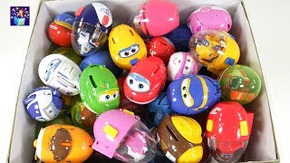 Learning Color Super Wings Suprise Egg box full of toys play video for kids