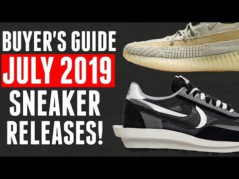 BEST Sneaker Releases of July