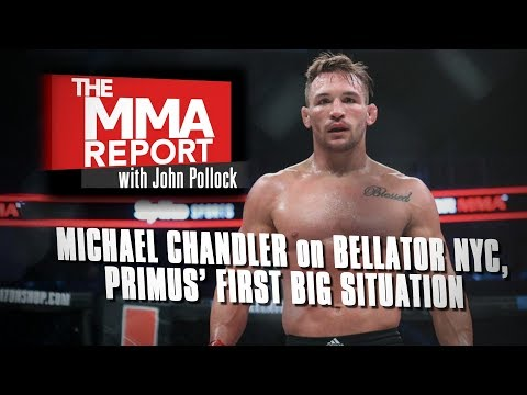 Michael Chandler on Bellator NYC, Brent Primus & More | Full Interview with John Pollock