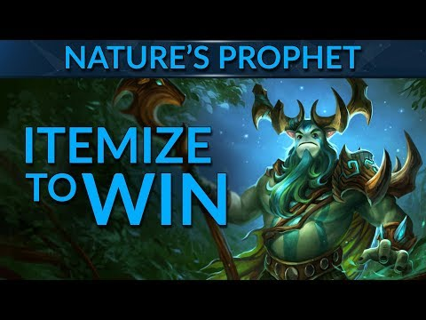 Nature's Prophet: CRUSH GAMES with the Best Items!   Dota 2 Guide