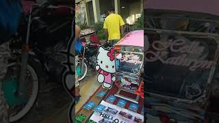 Grupong alyansa (Group of trike show) in Muzon st. Vivian Plaza