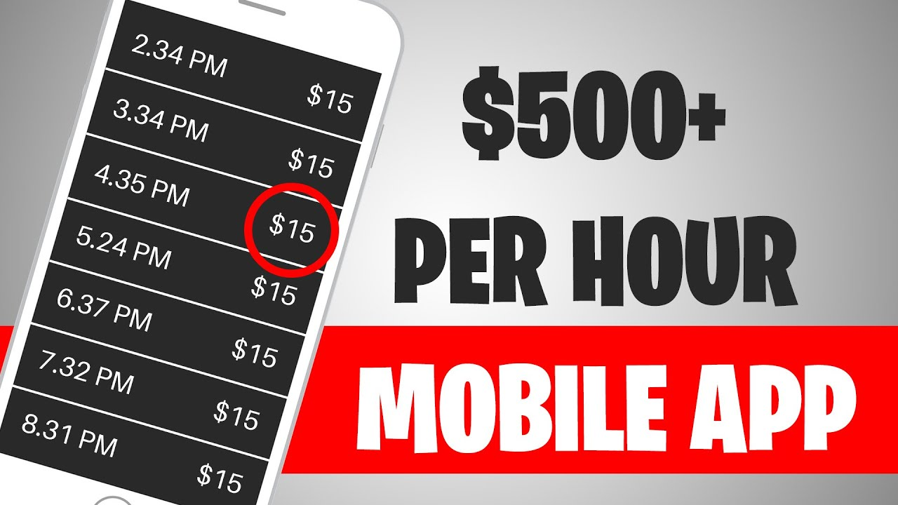 This App Pays $500 PER HOUR FOR FREE (Make Money Online Today)