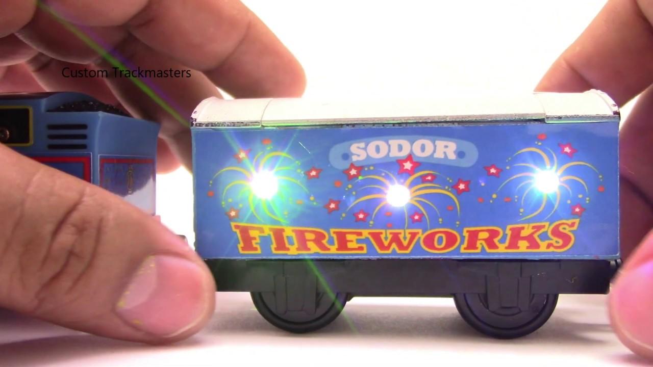 Custom Light up Fireworks Trackmaster Thomas & friends Thomas y sus amigos 托馬斯和朋友 Томас и друзья