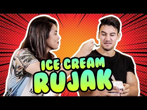Rani Ramadhany X Bobby Ida Cobain Ice Cream Rujak #CekOmbak