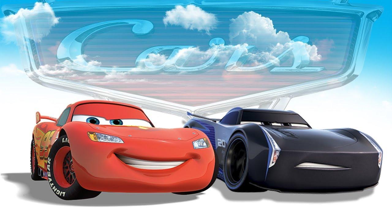 cars 3 movie english game jackson storm vs lightning