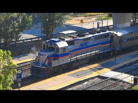MARC Trains At Savage Station