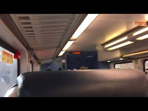 #7210 Nj transit 5521 train ride along from Westfield to fanwood