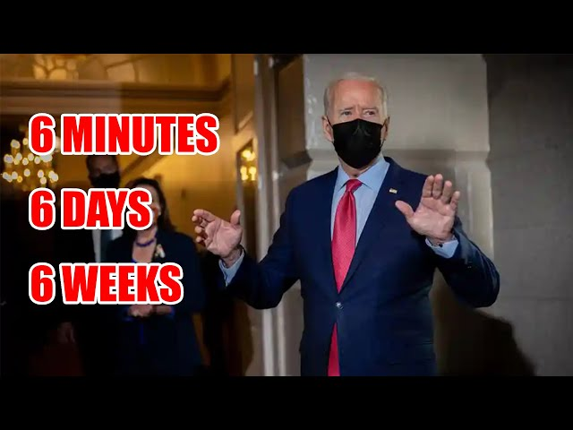 Biden: 6 Minutes, 6 Days, 6 Weeks. The Approaching Dark Day & 7 Judgments On The Same Day. Prophecy