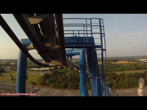 Afterburn Carowinds Roller Coaster POV Carolina