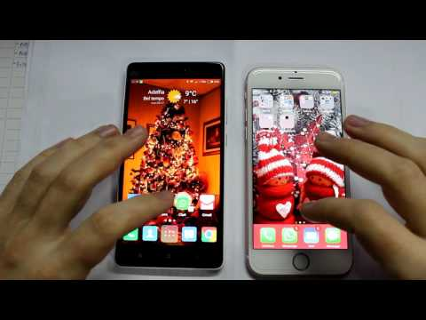 Xiaomi Mi 4c VS Iphone 6S