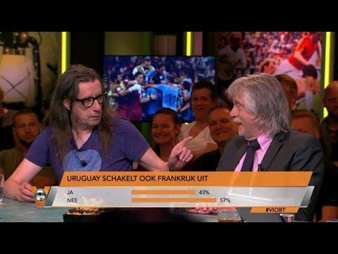 Herman Brusselmans laat naam Johan Derksen tatoeëren op arm bij uitschakeling Frankrijk