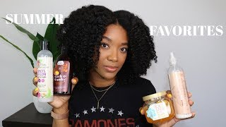 Summer Natural Hair Favorites!!