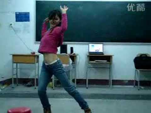 gái xinh Trung Quốc nhảy Nobody