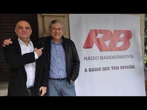 Rádio Bandeirantes: discussão entre Milton Neves e Cláudio Zaidan (11/04/2018)