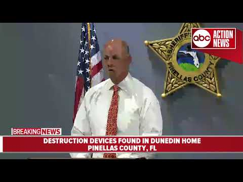 Dunedin man arrested after deputies found destruction devices in his home