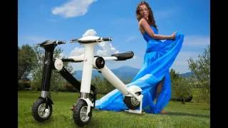 Acetech New Innovation Electric scooter ET-King . This new folding ...
