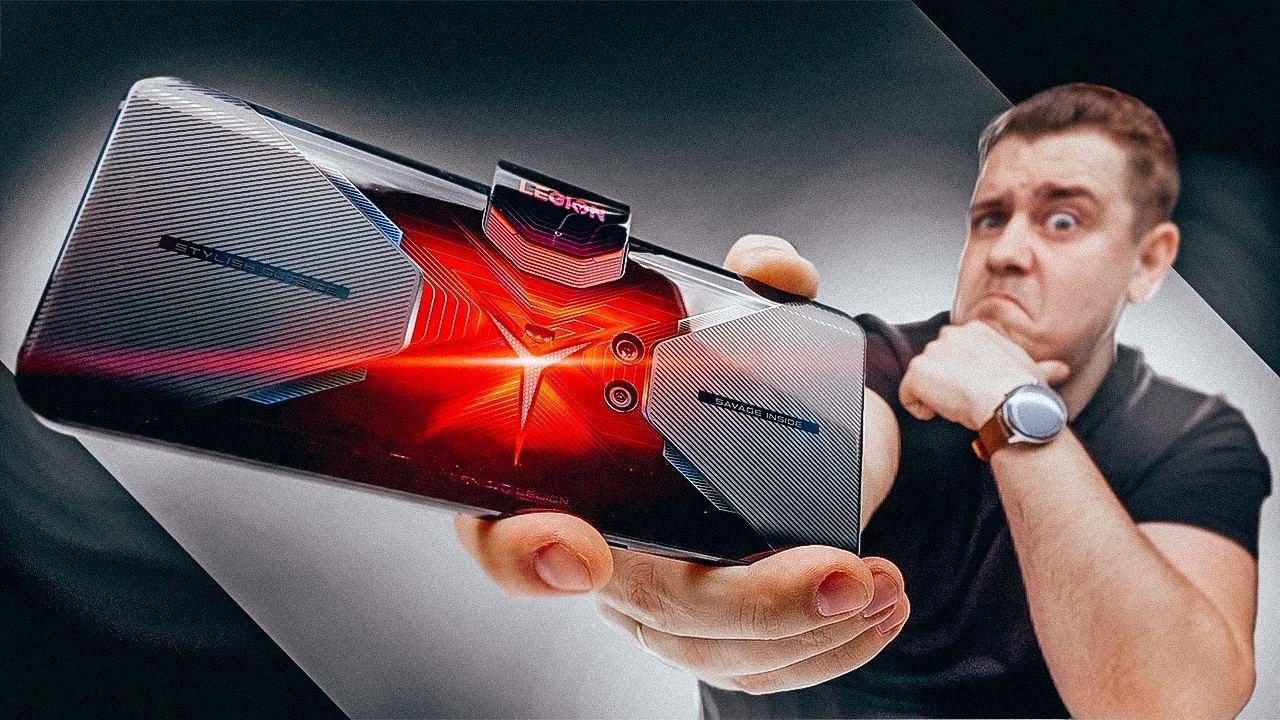 Самый Необычный Игровой Смартфон, Не Похожий Ни На Что! Lenovo Legion Phone Duel