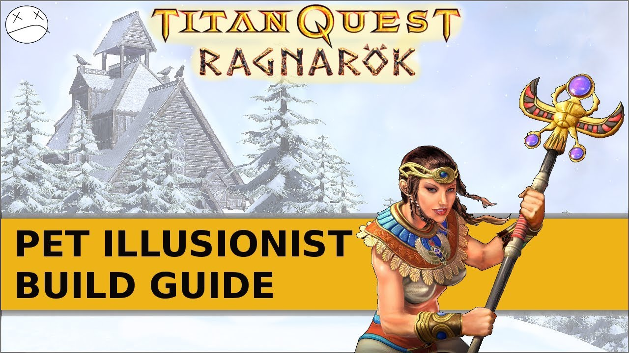 how to get to ragnorok in titan quest