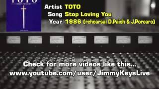 Toto - Stop Loving You (unreleased studio demo)