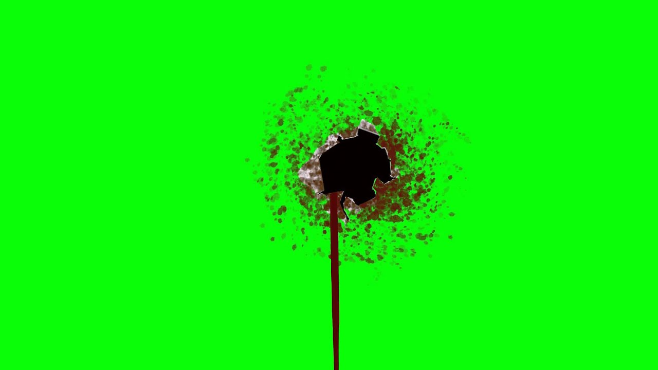 Bleeding Bullet Hole Wound Green Screen Animation Youtube Bloody bullet hole pictures, images & photos | photobucket. bleeding bullet hole wound green screen animation
