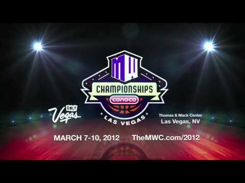 2012 Mountain West Basketball Championships @ Thomas & Mack Center - March 7-10