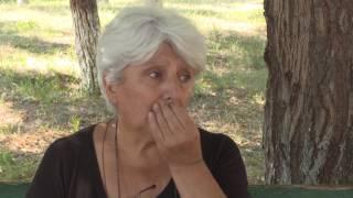 რუსული ავიაიერიშისას გმირულად დაღუპული ავიაციის უმცროსი სერჟანტის, 20 წლის გიორგი ნანუაშვილის დედა