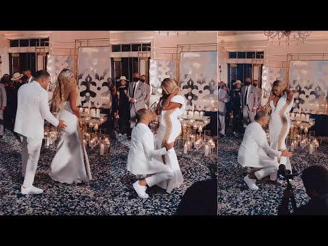 Cynthia Bailey Sparks Pregnancy Rumors Following This Video – See Her & Mike Dance At Their Wedding