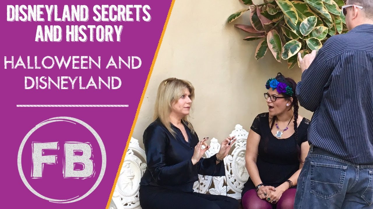Two tales of the history of Halloween and Disneyland with Kat Cressida