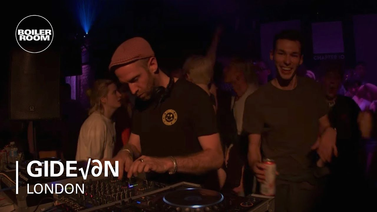 Gideön Boiler Room London Dj Set