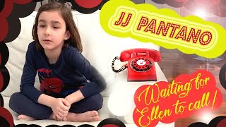 7 year old JJ Pantano sits by the phone waiting for Ellen to call ::: Part 1