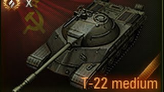 World of Tanks - T-22 Gameplay
