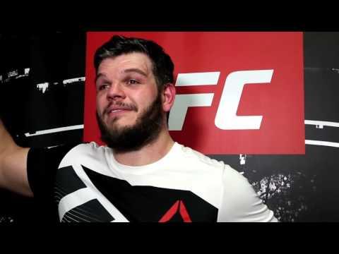 Cyril Asker - post-fight interview UFC Fight Night 103 - Phoenix