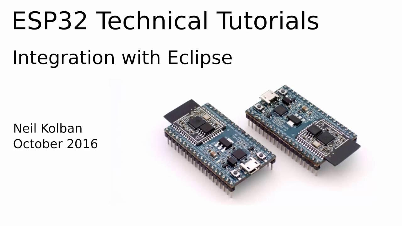 Setting up Eclipse for ESP-IDF - Tutorials