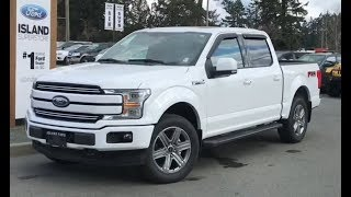 2019 Ford F-150 Lariat 502A 2.7L Supercrew Review| Island Ford