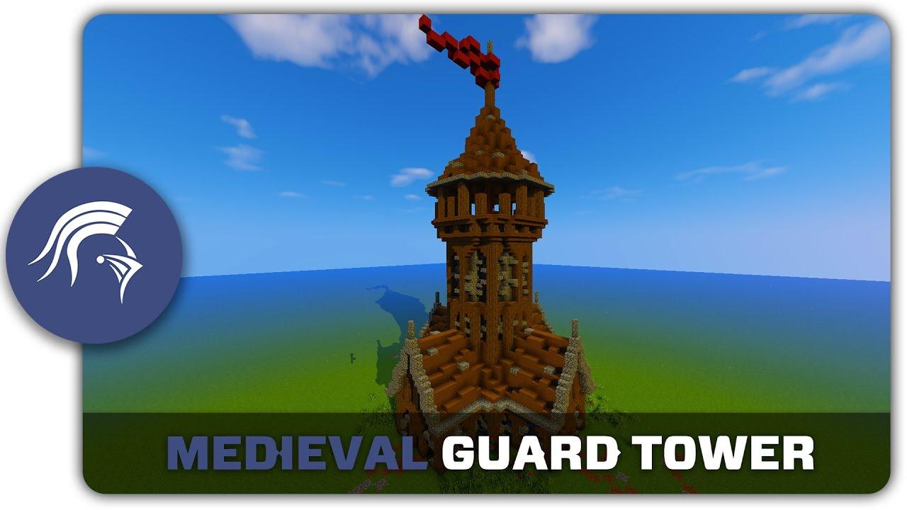 Minecraft Medieval Clock Tower Tutorial