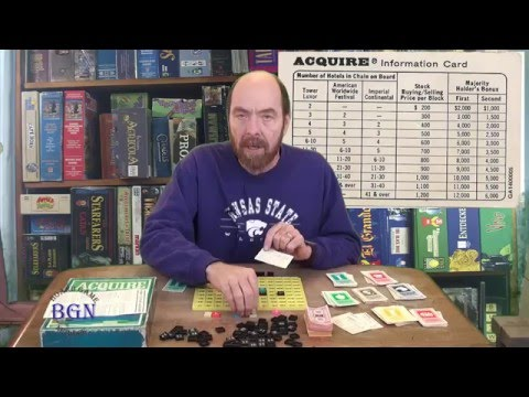 How to play the board game Acquire