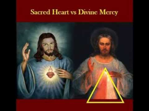 Sacred Heart vs Divine Mercy:  A Catholic devotion and its Novus Ordo Counterfeit