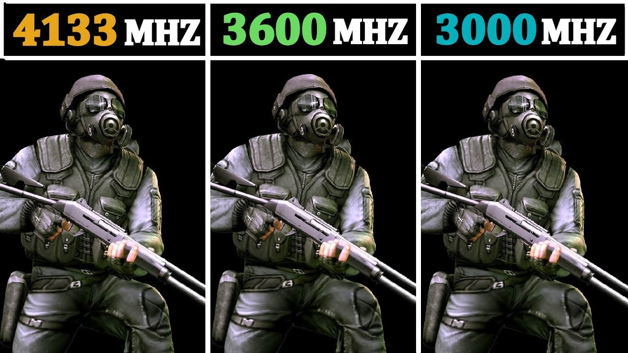 4133Mhz (CL19) vs 3000Mhz (CL16) vs 3600Mhz (CL17) | Tested 15 Games |
