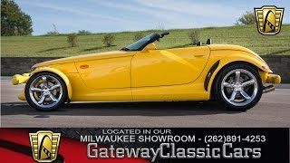 1999 Plymouth Prowler Now Featured in our Milwaukee Showroom #101-MWK