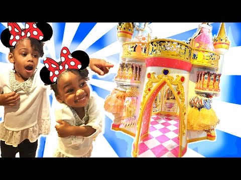 Giant Surprise Toys Hunt game with Disney Toys |