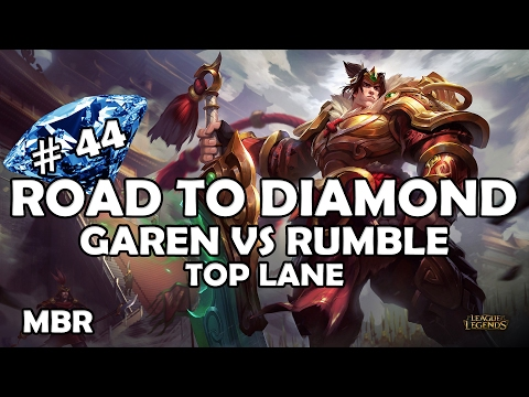 Road To Diamond #44 | Warring Kingdoms Garen Vs Rumble | Thunderlords | Season 7