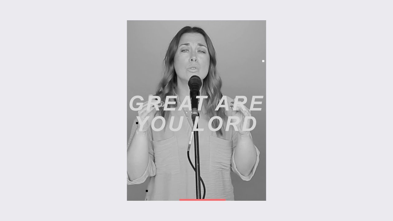 Great Are You Lord (Live) - Grace Surtie Cover Image